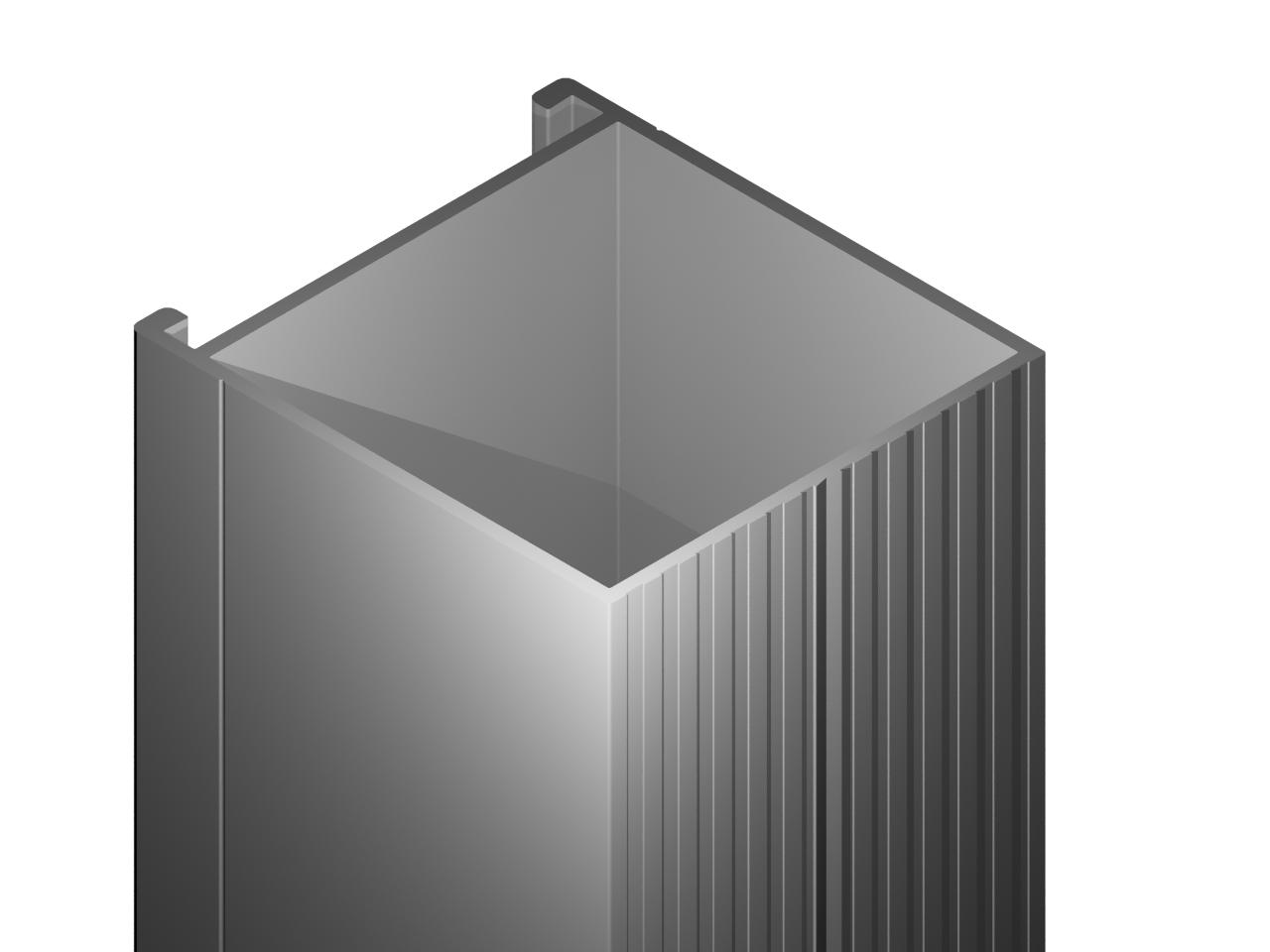 Aluminum profile A-24.4