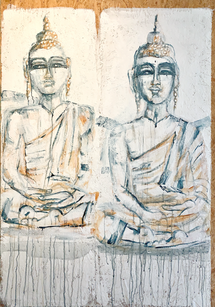 Two Buddhas   Panel 3/4