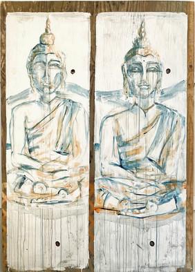 Two Buddhas   Panel 1/4