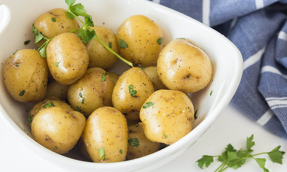 Buttered New Potatoes