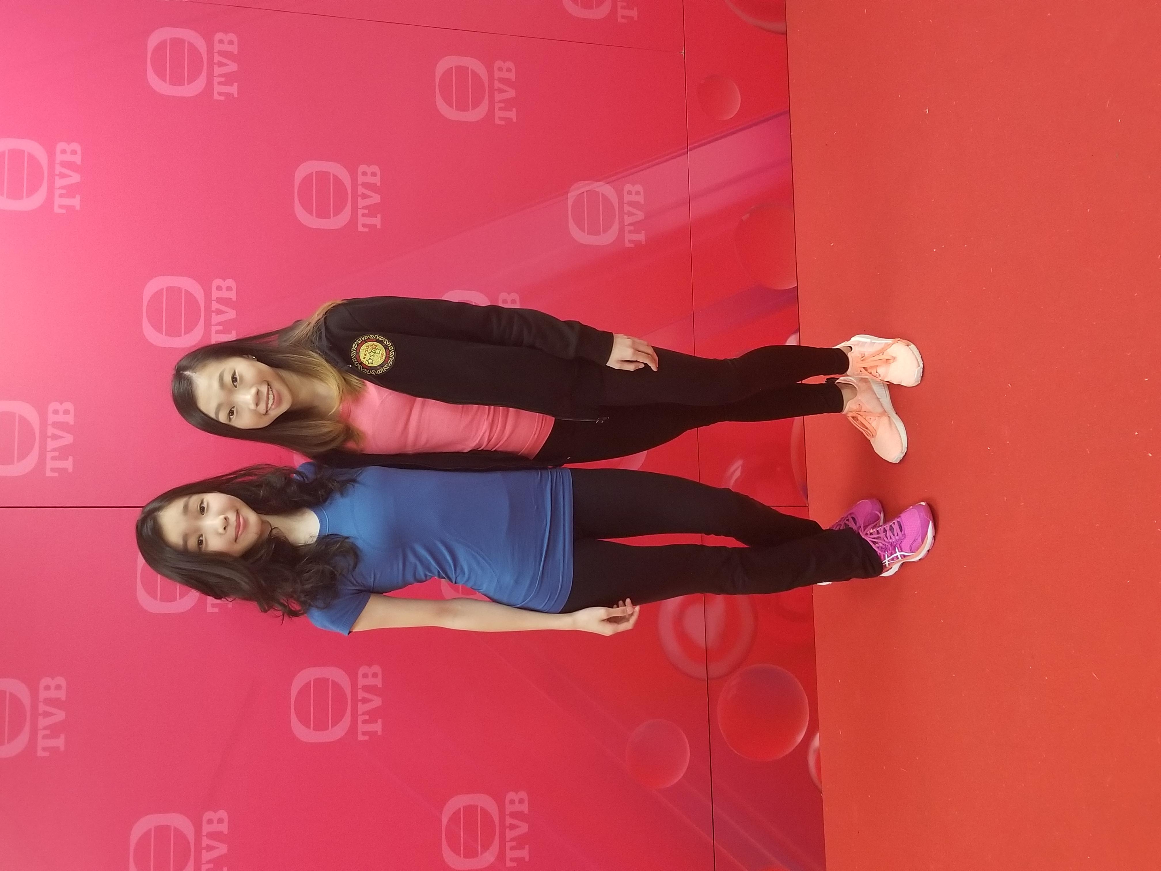 TVB 今日VIP with 鄺曉晴