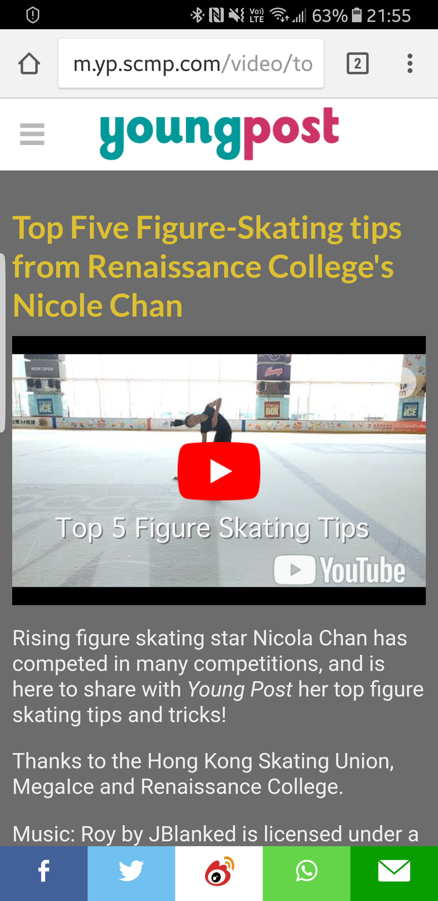 Top 5 Figure Skating Tips