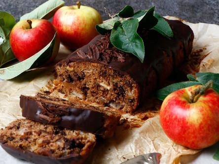 Chocolate Apple Cake (Vegan, Gluten Free, Nut Free)