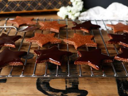 Vegan and Gluten-Free Chocolate Star Cookies