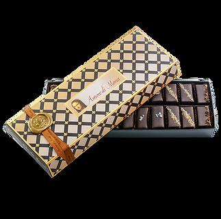 Vegan chocolate mignardise assortment