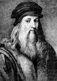Leonardo da Vinci, our muse