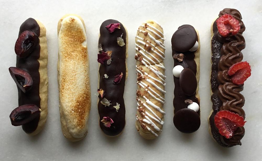 Gluten Free Chocolate Eclairs