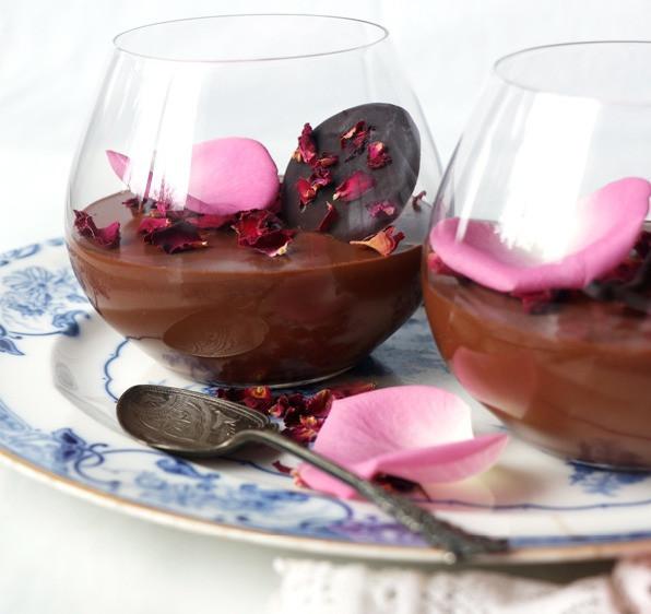 Gluten chocolat pudding