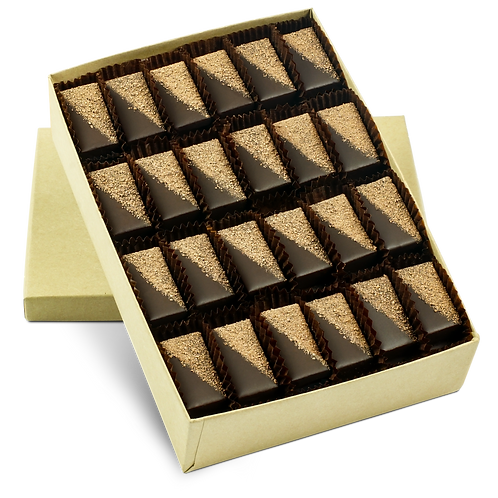BULK, Chocolate Ganache - Box of 48 Individual Pieces