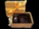 3 Piece Luxury Vegan Artisan Fine Chocolate Assortment Party Favor Gift Box