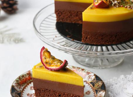 Passionfruit Chocolate Entremet