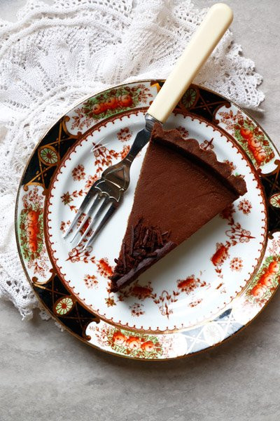 VeChocolate Pumpkin Tart