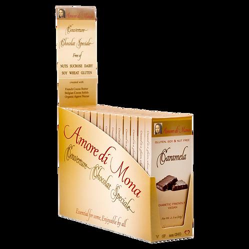 Caramela - Case of 14, 2.5 oz Bars