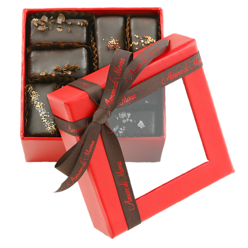 CASE of 6,  Mignardise Gift Box (16 piece, 8 oz)