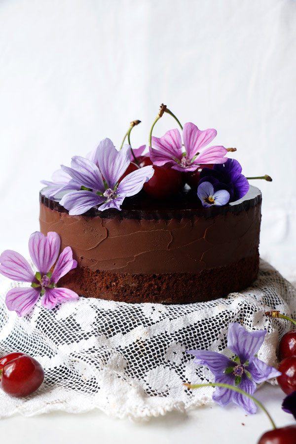 Common Allergen Free Chocolate Mousse Cake