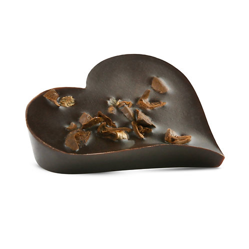 Individual Pieces, Dark Chocolate with Coffee Beans - Box of 40