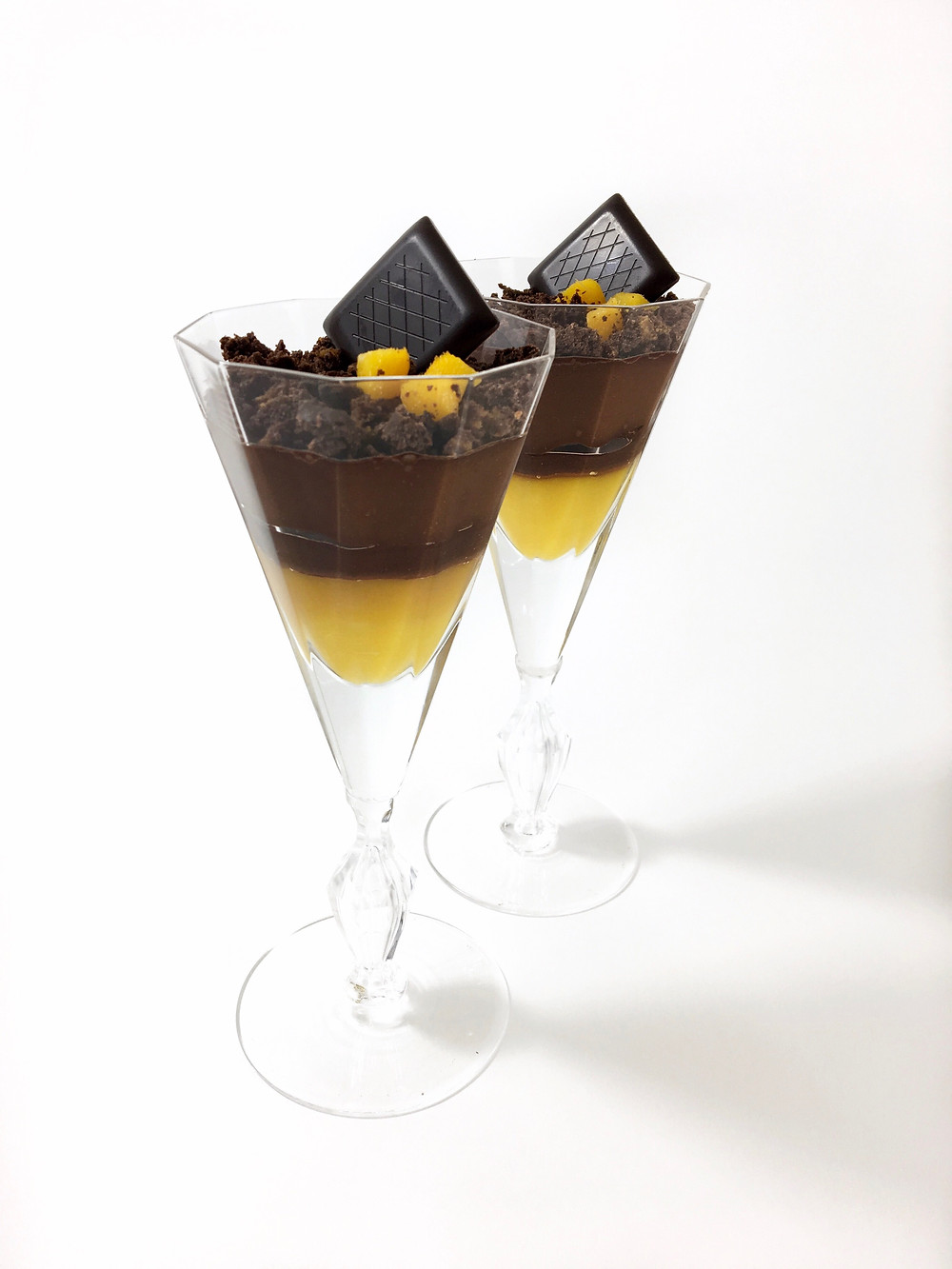 Vegan Chocolate Mango Verrine