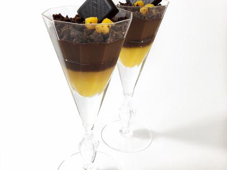 Chocolate Mango Verrine - Vegan and Common Allergen Free
