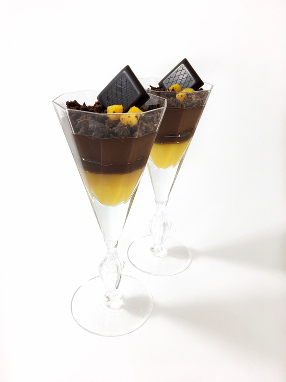 Chocolate Mango Verrine - Vegan and Common Allergen Free