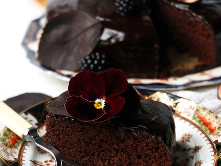 Autumn Chocolate Cake (Vegan and Common Allergen Free)