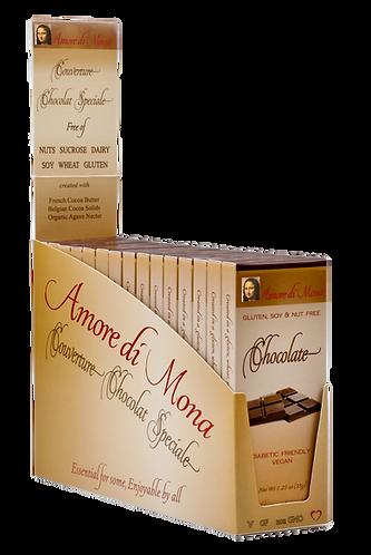 Dark Chocolate - Case of 15, 1.25 oz Bars