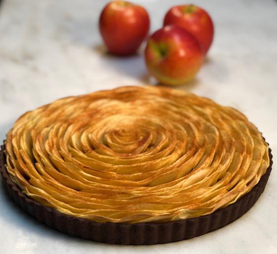 Apple Tarte Tatin - Vegan & Gluten Free
