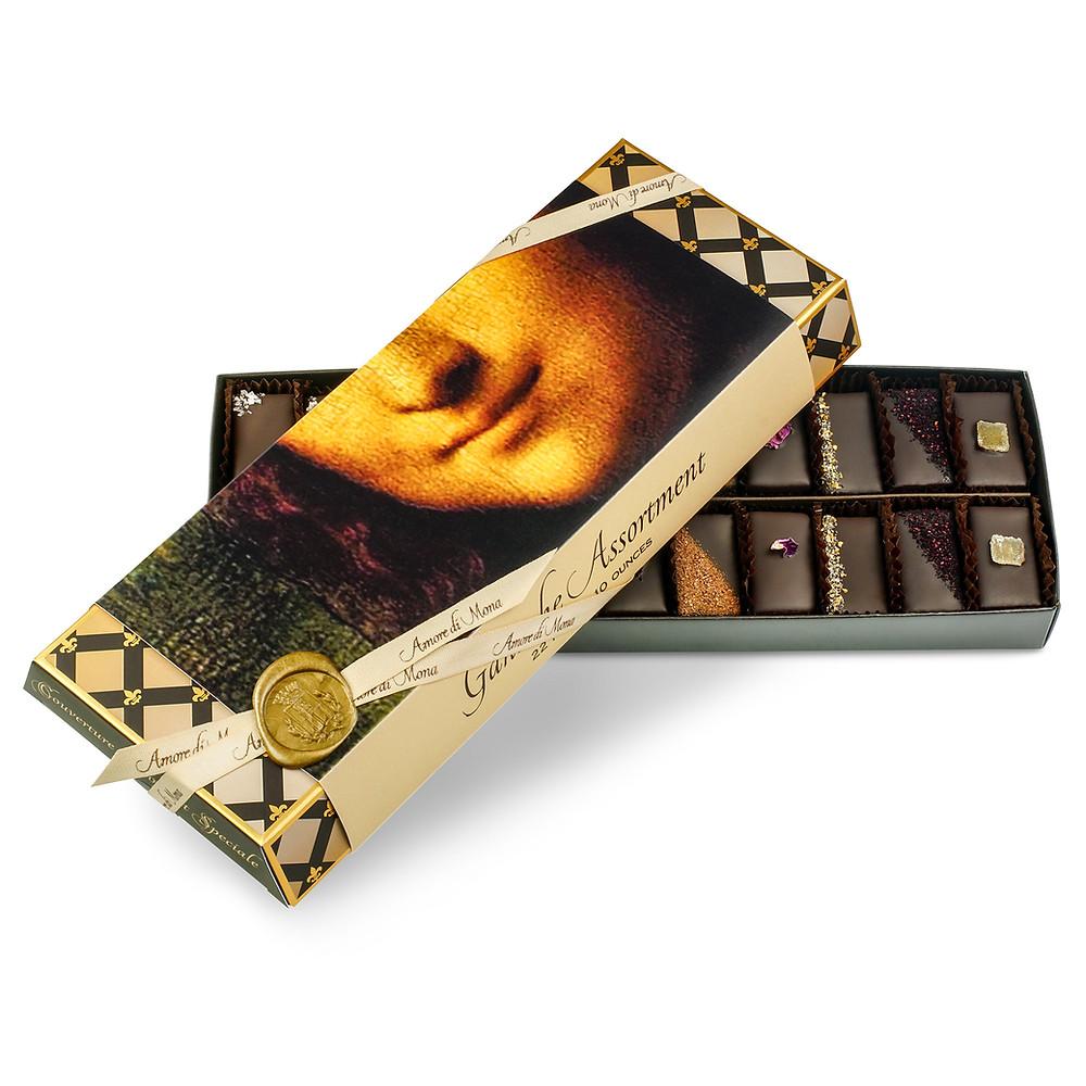 Amore di Mona Ganache Assortment - Vegan Chocolate Gift