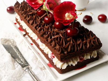 Lovely, Luscious Black Forest Gateau