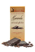 Vegan chocolate caramela with coffee pack