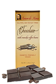Vegan coffee chocolate bar