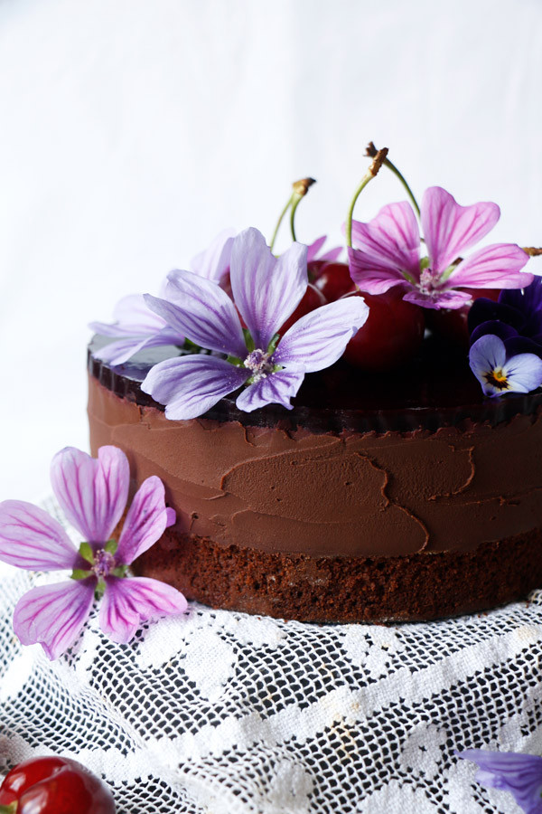 Chocolate Mousse Cake - Vegan & Gluten Free
