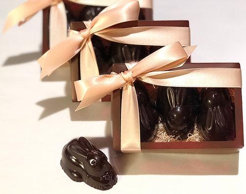 3 Pack of Crispy Caramela Bunny Gift Boxes