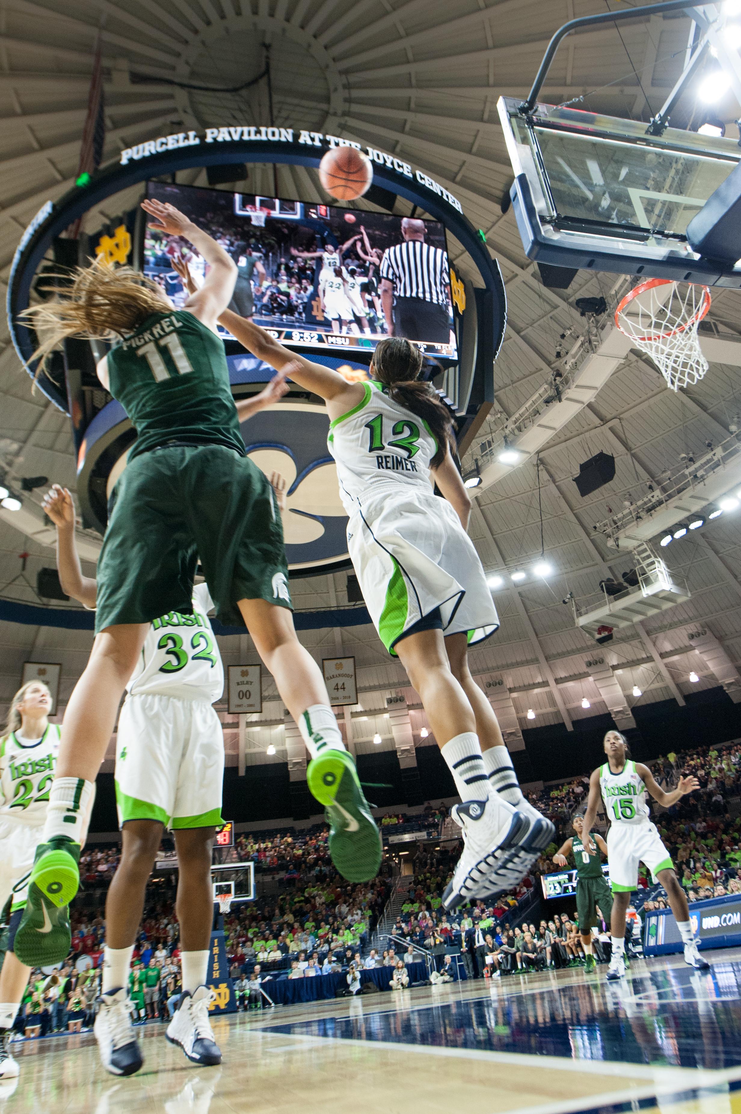 MSU vs Notre Dame