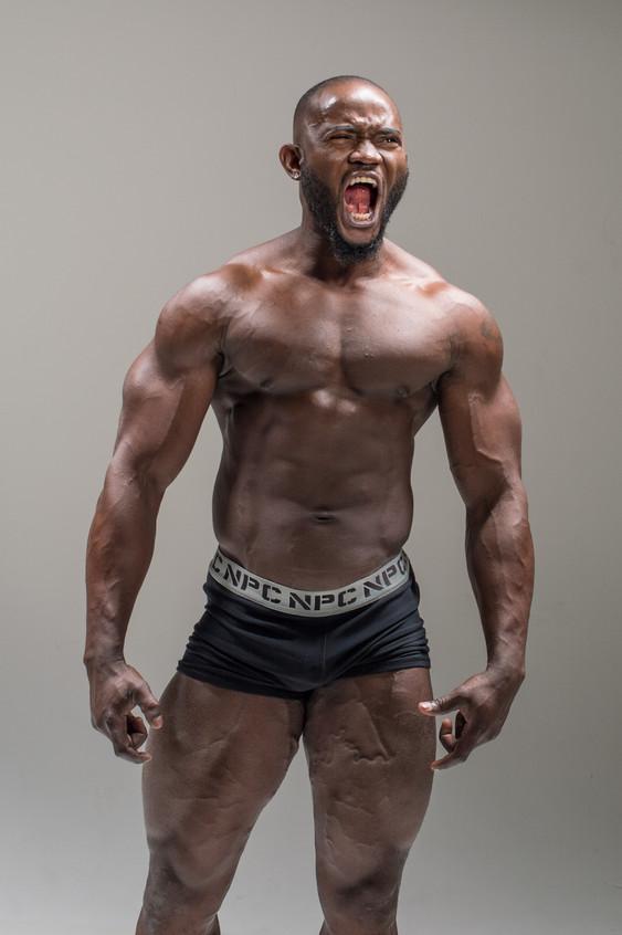 Bodybuilder Ken Kotey