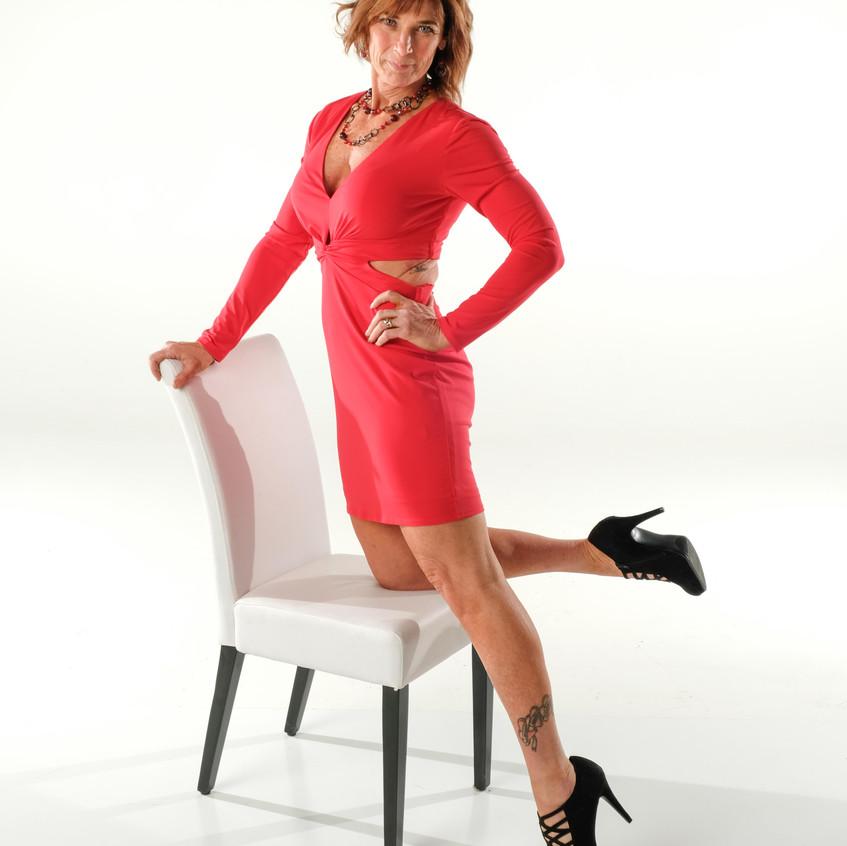 Krista Red Dress