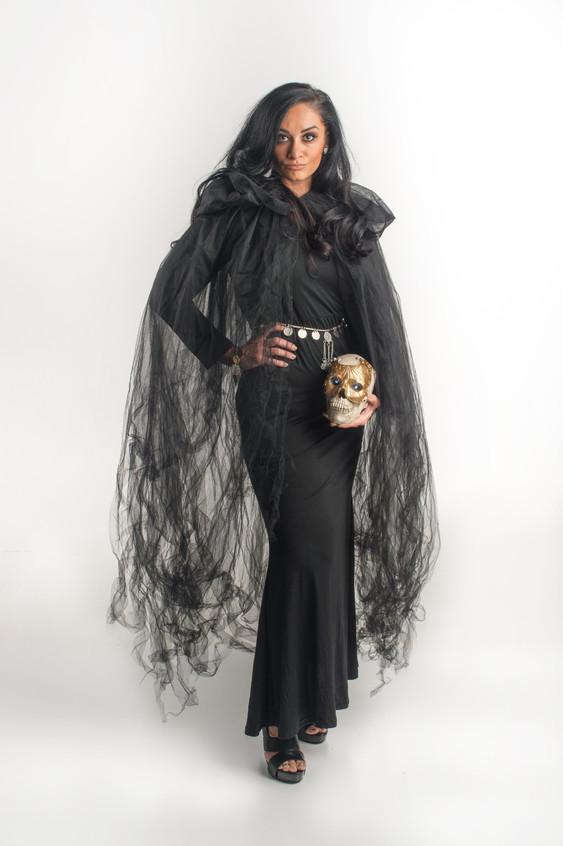 Tara in black