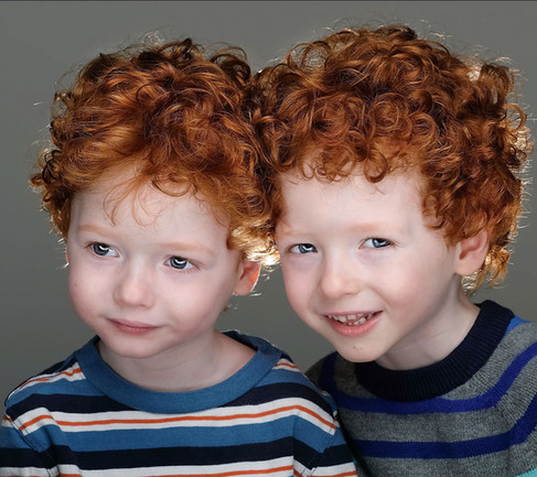Red Headed Twins