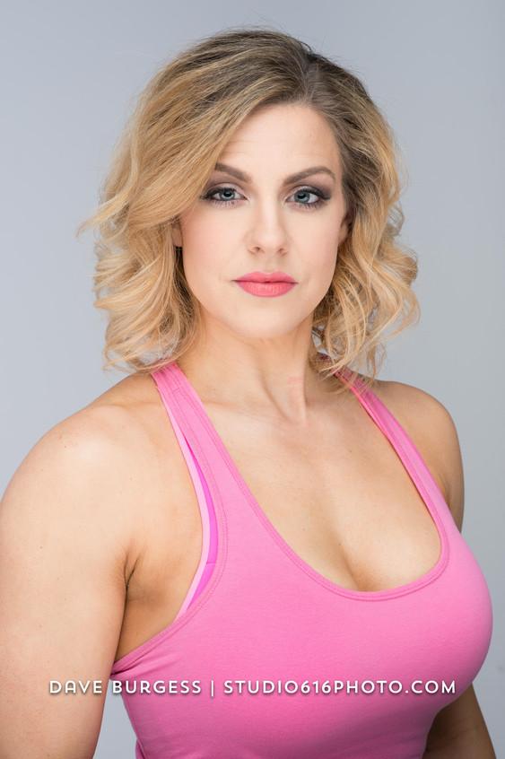 Sarah Pitsch, pink close up