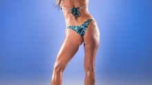 Bodybuilder April is 63 Years Young!