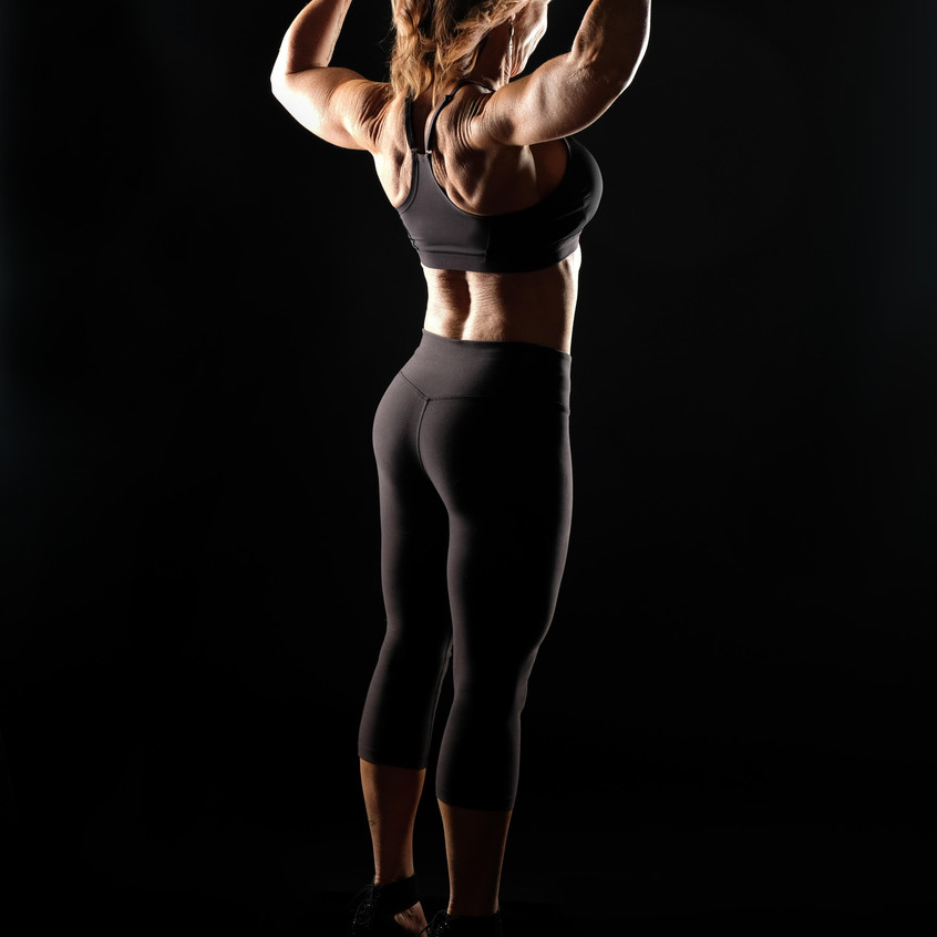 Krista Holmen Back Pose