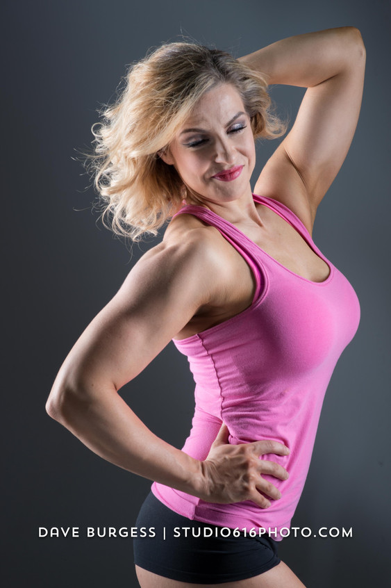 Sarah Pitsch classic pose