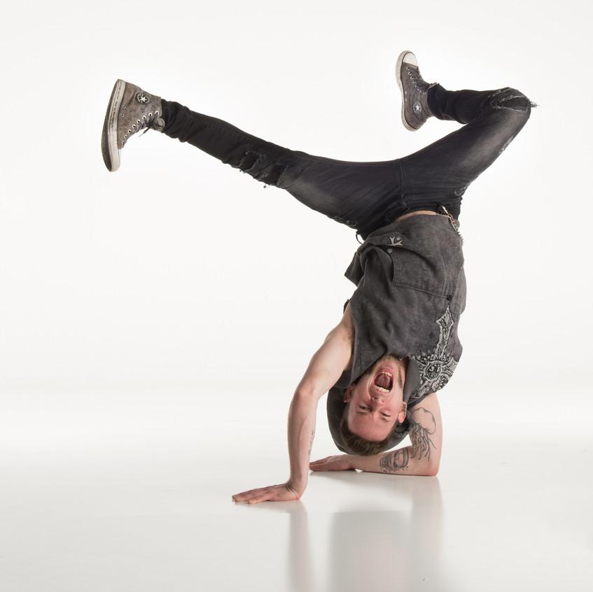 Dancer-Grand Rapids_Studio 616-Headstand
