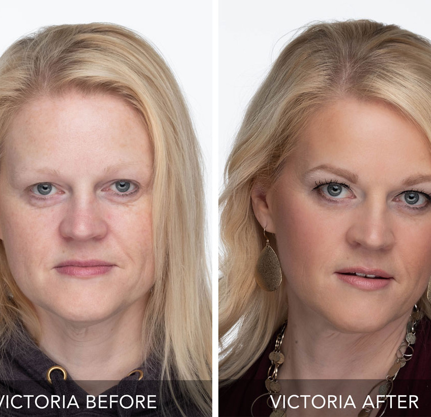Before & After Makeup Demo