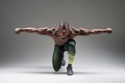 Grand Rapids bodybuilder Ken Kotey