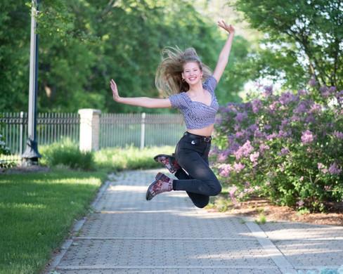 Cassidee Haan Leaps