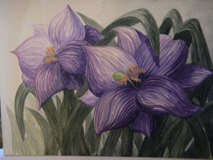 Light Purple Lilies Interpretation