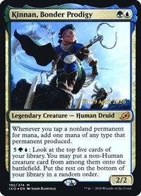 Kinnan, Bonder Prodigy (Prerelease Foil / Ikoria - Lair of Behemoths)