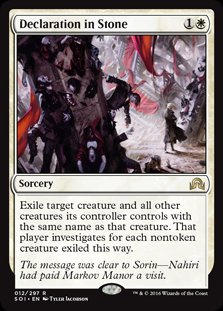 Declaration in Stone (Foil / Shadows Over Innistrad)
