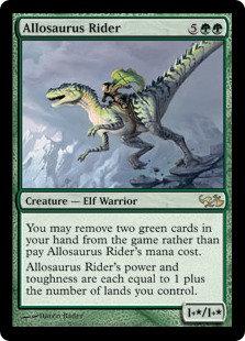Allosaurus Rider (Duel Decks - Elves vs Goblins)