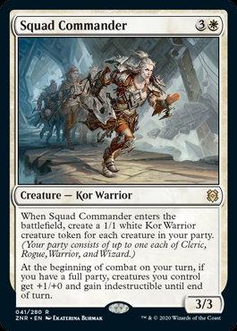 Squad Commander (Zendikar Rising)